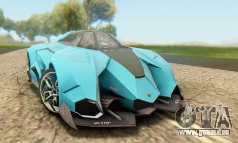 Lamborghini Egoista Concept 2013 für GTA San Andreas