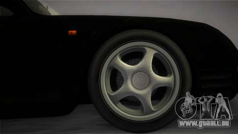 Porsche 959 1986 pour une vue GTA Vice City de la droite