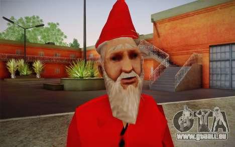 Santa Claus pour GTA San Andreas troisième écran