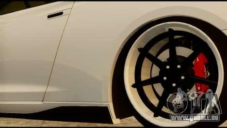 Nissan GT-R V2.0 pour GTA San Andreas vue de droite