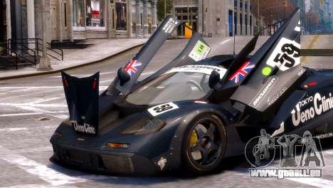 McLaren F1 GTR für GTA 4 rechte Ansicht