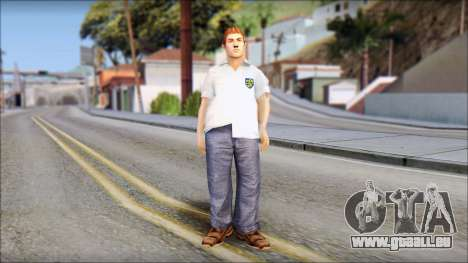 Russell from Bully Scholarship Edition pour GTA San Andreas deuxième écran