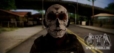 Sicario Del Golfo pour GTA San Andreas troisième écran
