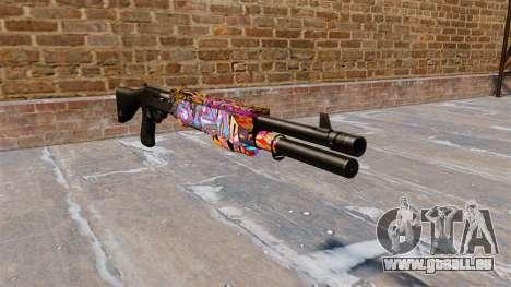 Ружье Franchi SPAS-12 Graffitis pour GTA 4
