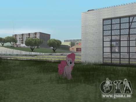 Pinkie Pie pour GTA San Andreas septième écran