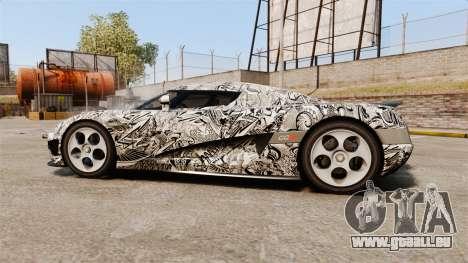 Koenigsegg CCX v1.5 für GTA 4 linke Ansicht