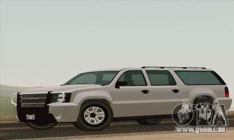 DeClasse Granger V1.0 pour GTA San Andreas sur la vue arrière gauche