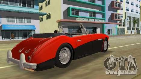 Austin-Healey 3000 Mk III pour une vue GTA Vice City de la gauche