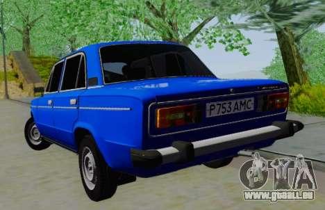 VAZ 21061 pour GTA San Andreas sur la vue arrière gauche