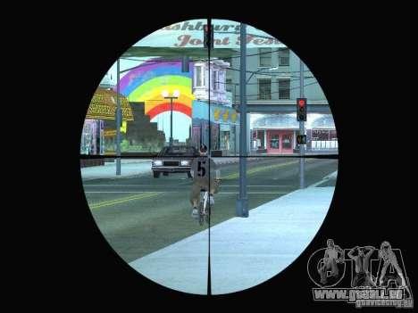 Sniper mod: Realism pour GTA San Andreas deuxième écran