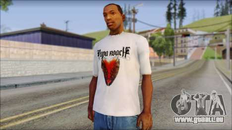 Papa Roach The Best Of To Be Loved Fan T-Shirt pour GTA San Andreas