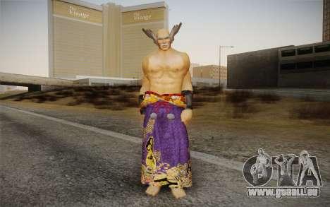 Heihachi Mishima v2 pour GTA San Andreas