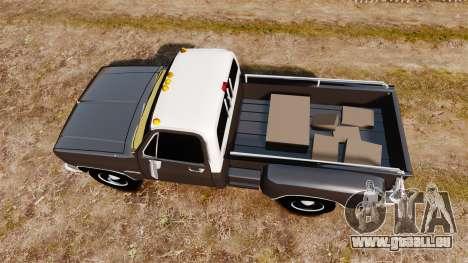 GMC 454 Pick-Up für GTA 4 rechte Ansicht