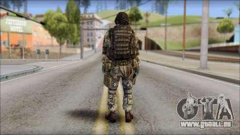 Forest GROM from Soldier Front 2 für GTA San Andreas zweiten Screenshot