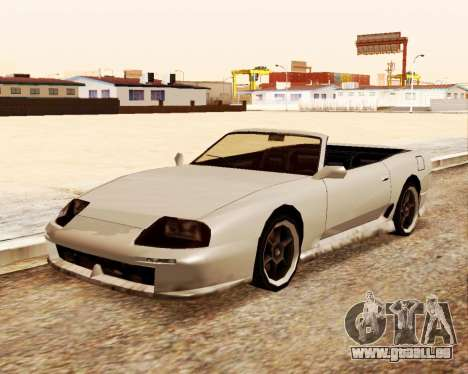 Jester Cabrio für GTA San Andreas rechten Ansicht