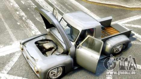 Ford FR100 Stance pour GTA 4 est un droit