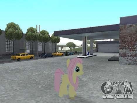 Fluttershy pour GTA San Andreas quatrième écran