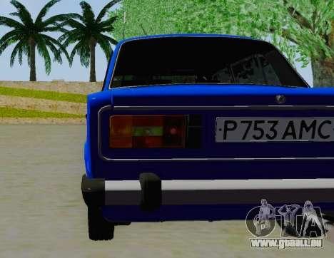 VAZ 21061 pour GTA San Andreas vue arrière