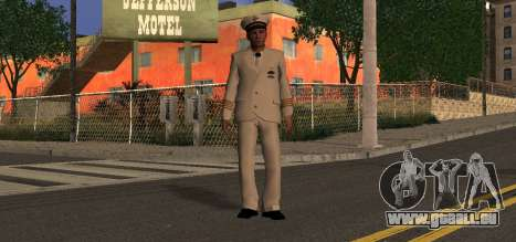 Navy Officer pour GTA San Andreas