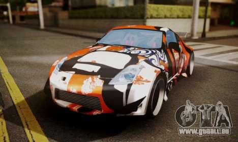 Nissan 350z Angel Beast Itasha Edition für GTA San Andreas Innenansicht