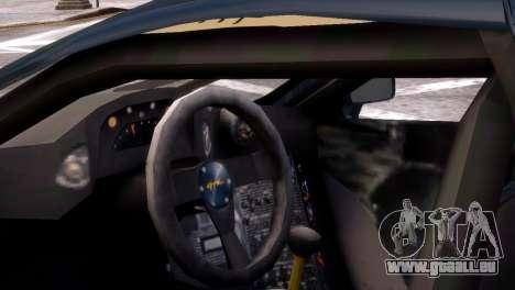 McLaren F1 GTR für GTA 4 hinten links Ansicht