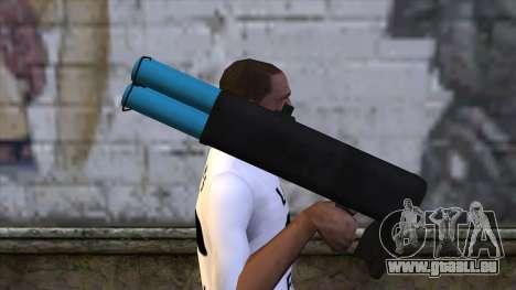 M20 BRS Rocket Launcher pour GTA San Andreas troisième écran