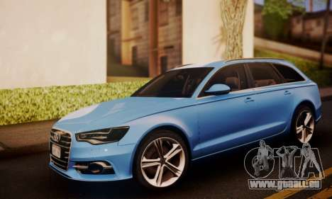 Audi S6 Avant 2014 pour GTA San Andreas