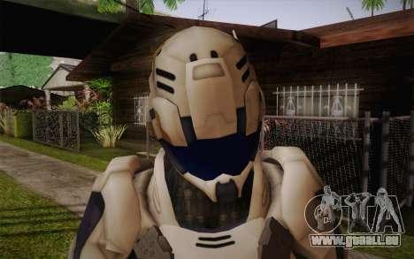 Suit from Vanquish für GTA San Andreas dritten Screenshot