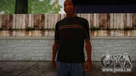 Black RX T-Shirt für GTA San Andreas