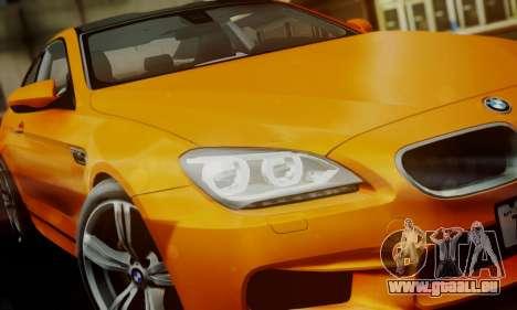 BMW M6 F13 2013 pour GTA San Andreas moteur