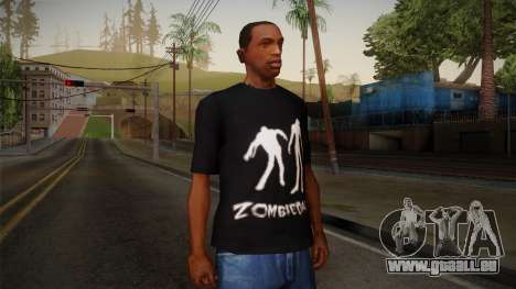 Zombie Polo Shirt pour GTA San Andreas