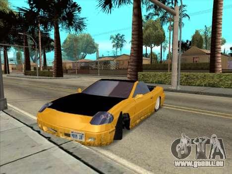 Alpha HD Cabrio pour GTA San Andreas vue intérieure