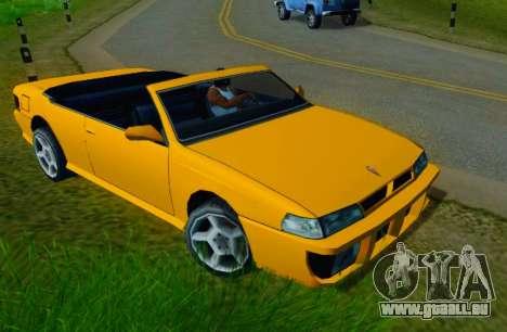 Sultan Сabriolet v2.0 für GTA San Andreas