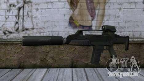 XM8 Compact Green pour GTA San Andreas