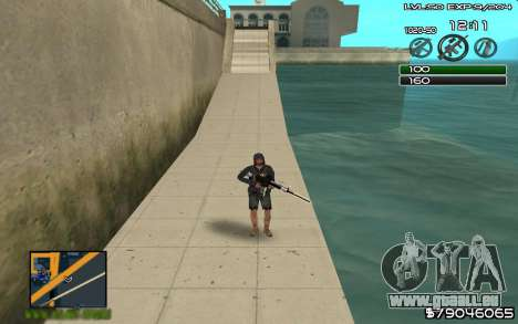 C-HUD by SampHack v.8 für GTA San Andreas
