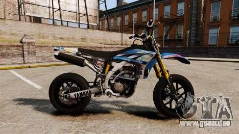 Yamaha YZF-450 v1.19 pour GTA 4 est une gauche