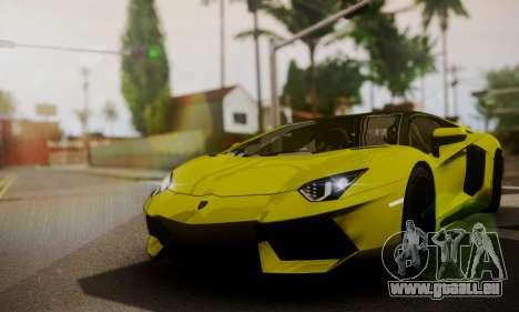 Lamborghini Aventador TT Ultimate Edition pour GTA San Andreas vue de côté
