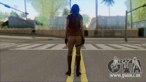 Helena Harper pour GTA San Andreas deuxième écran