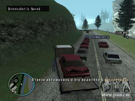 Évacuateur v1.0 pour GTA San Andreas sixième écran
