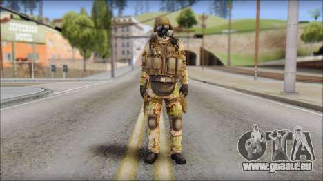 Desert GIGN from Soldier Front 2 für GTA San Andreas