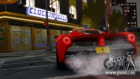 Ferrari LaFerrari WheelsandMore Edition pour GTA 4 Vue arrière de la gauche
