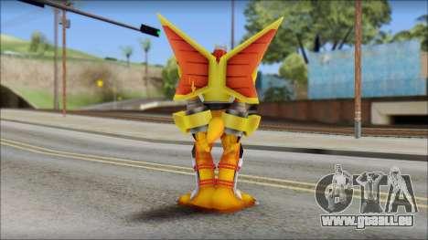 Victorygreymon pour GTA San Andreas deuxième écran