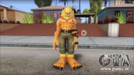 Leomon pour GTA San Andreas deuxième écran