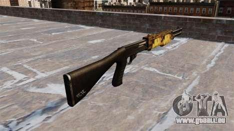 Fusil Franchi SPAS-12 Automne pour GTA 4 secondes d'écran