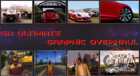 SA Ultimate Graphic Overhaul pour GTA San Andreas