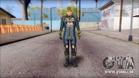 Piers Azul Gorra pour GTA San Andreas