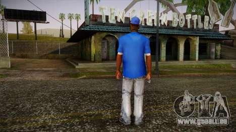 Sweet Blue Skin pour GTA San Andreas deuxième écran