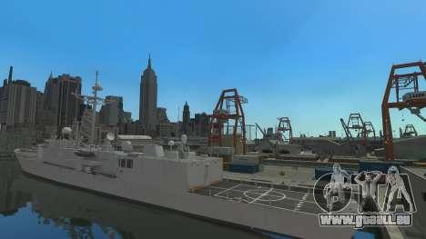 U.S. Navy frigate pour GTA 4