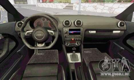 Audi S3 2006 Custom für GTA San Andreas Seitenansicht