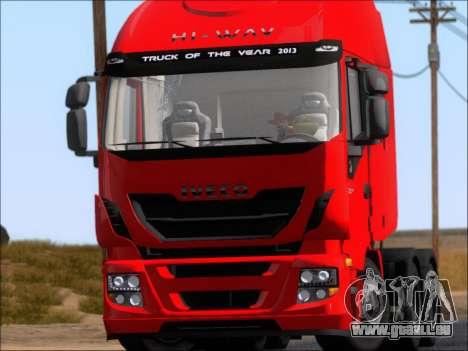Iveco Stralis HiWay 560 E6 6x4 pour GTA San Andreas